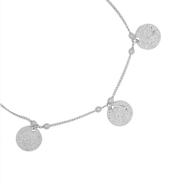 Enkelbandje caesar zilver