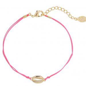 Armband shell pink